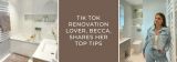 Tik Tok Renovation Lover, Becca, deelt haar beste tips